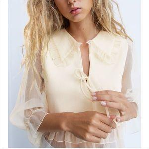 Zara Combination Knit Top
